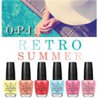 OPI Retro Summer Collection 2016 - Я так хочу, чтобы лето не кончалось!