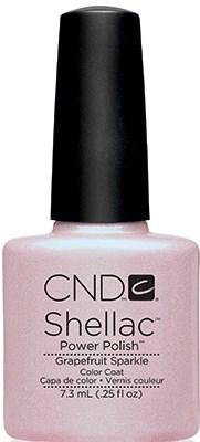 "CND Shellac Grapefruit Sparkle, 7,3 мл. - гель лак Шеллак ""Искрящийся грейпфрут"" - фото 15433"