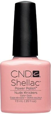 "CND Shellac Nude Knickers, 7,3 мл. - гель лак Шеллак ""Короткие штанишки"" - фото 15435"