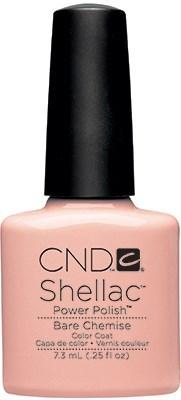 CND Shellac Bare Chemise, 7,3 мл. - цветное покрытие - фото 15436