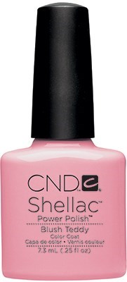 "CND Shellac Blush Teddy, 7,3 мл. - гель лак Шеллак ""Румянец Тедди"" - фото 15439"