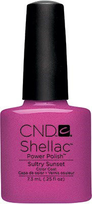CND Shellac Sultry Sunset, 7,3 мл. - цветное покрытие - фото 15443