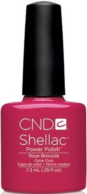 "CND Shellac Rose Brocade, 7,3 мл. - гель лак Шеллак ""Розовый бархат"" - фото 15452"