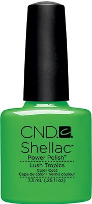 CND Shellac Lush Tropics, 7,3 мл. - цветное покрытие - фото 15472