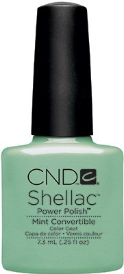 "CND Shellac Mint Convertible, 7,3 мл. - гель лак Шеллак ""Валюта"" - фото 15473"