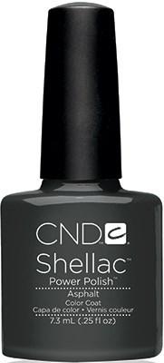 """CND Shellac Asphalt, 7,3 мл. - гель лак Шеллак """"Асфальт"""" - фото 15511"""