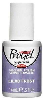 "SuperNail ProGel Lilac Frost, 14 мл. - гелевый лак ""Лиловый мороз"" - фото 20539"