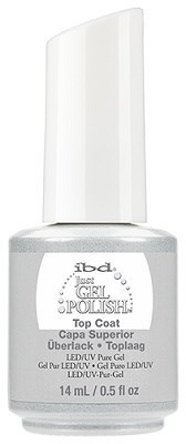 IBD Just Gel Top Coat, 14 мл. - топ для гель лака - фото 21865