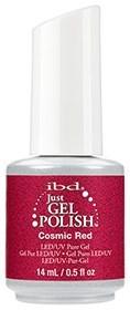 """IBD Just Gel Polish Cosmic Red, 14 мл. - гель лак IBD """"Космический красный"""" - фото 21888"""