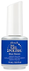 "IBD Just Gel Polish Blue Haven, 14 мл. - гель лак IBD ""Синие небеса"" - фото 21900"