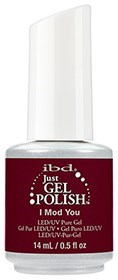 "IBD Just Gel Polish I Mod You, 14 мл.- гель лак IBD ""Я в моде"" - фото 22057"