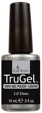"""EzFlow TruGel Lil Dress, 14 мл. - гелевый лак """"Маленькое платье"""" - фото 22135"""
