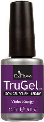 """EzFlow TruGel Violet Energy, 14 мл. - гелевый лак """"Фиолетовая энергия"""" - фото 22497"""