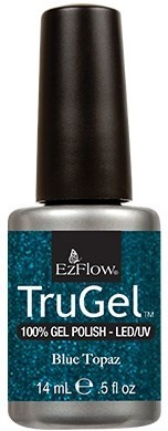 """EzFlow TruGel Blue Topaz, 14 мл. - гелевый лак """"Голубой топаз"""" - фото 22503"""