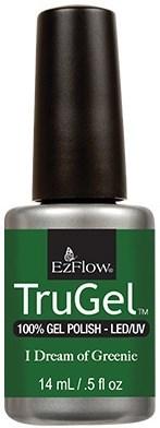 "EzFlow TruGel I Dream of Greenie, 14мл. - гелевый лак ""Травяной зеленый"" - фото 22550"