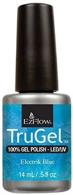 "EzFlow TruGel Electrik Blue, 14мл - гелевый лак ""Электросиний"" - фото 22593"