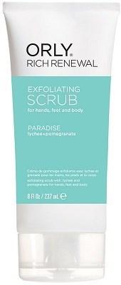 ORLY Rich Renewal Exfoliating Scrub Paradise, 237мл.- Скраб восстанавливающий для рук, ног и тела - фото 26694