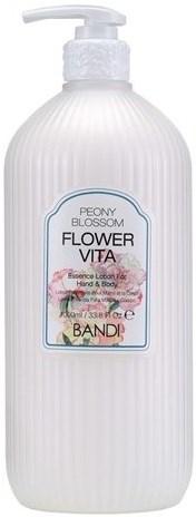 "BANDI Flower Vita Essence Lotion Peony Blossom, 1000 мл. - Лосьон для рук и тела ""Пион"" - фото 30253"