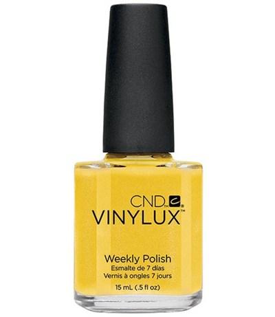 CND VINYLUX #104 Bicycle Yellow,15 мл.- лак для ногтей Винилюкс №104 - фото 4054