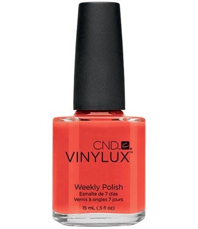 CND VINYLUX #112 Electric Orange,15 мл.- лак для ногтей Винилюкс №112 - фото 4086