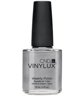 CND VINYLUX #148 Silver Chrome,15 мл.- лак для ногтей - фото 4229