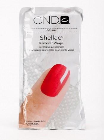 CND Shellac Remover Wraps, 10 шт.- замотка для удаления Shellac - фото 4427