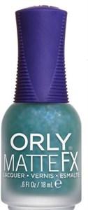 "Orly Green Flakie Topcoat, 18 мл.- лак для ногтей ""Зеленое матовое покрытие"""