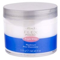 IBD Flex Powder Bright White, 113гр.- Ярко-белая акриловая пудра