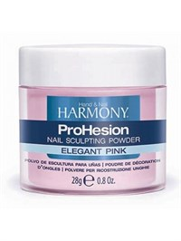 HARMONY ProHesion Elegant Pink Powder, 28г.- Прозрачно-розовая акриловая пудра