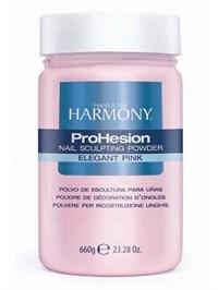 HARMONY ProHesion Elegant Pink Powder, 660г.- Прозрачно-розовая акриловая пудра