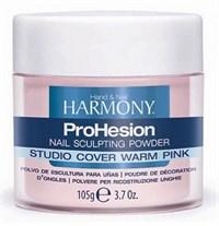 HARMONY Studio Cover Warm Pink Powder, 105г.- Камуфлирующая насыщенно розовая акриловая пудра