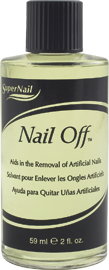 SuperNail Nail Off, 59 мл. - средство для удаления искусственных ногтей