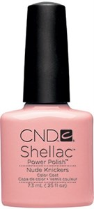 CND Shellac Nude Knickers, 7,3 мл. - цветное покрытие