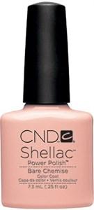 CND Shellac Bare Chemise, 7,3 мл. - цветное покрытие