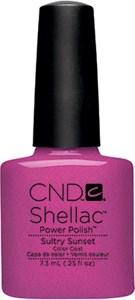 CND Shellac Sultry Sunset, 7,3 мл. - цветное покрытие
