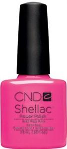 CND Shellac Hot Pop Pink, 7,3 мл. - цветное покрытие