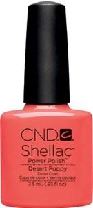 CND Shellac Desert Poppy, 7,3 мл. - цветное покрытие
