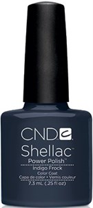 CND Shellac Indigo Frock, 7,3 мл. - цветное покрытие