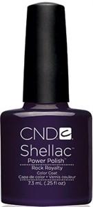 CND Shellac Rock Royalty, 7,3 мл. - цветное покрытие