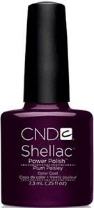 CND Shellac Plum Paisley, 7,3 мл. - цветное покрытие