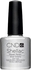 "CND Shellac Silver Chrome, 7,3 мл. - гель лак Шеллак ""Хром"""