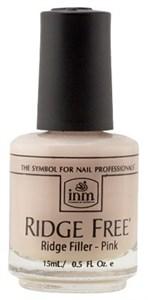 INM Ridge Free Pink, 15 мл.- Выравнивающее розовое базовое покрытие под лак