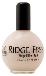 INM Ridge Free Pink, 73 мл.- Выравнивающее розовое базовое покрытие под лак