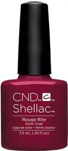 CND Shellac Rouge Rite, 7,3 мл. - цветное покрытие шеллак