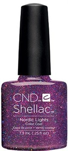 CND Shellac Nordic Lights, 7,3 мл. - цветное покрытие шеллак гель-лак