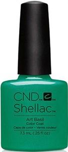 CND Shellac Art Basil, 7,3 мл. - цветное покрытие шеллак гель-лак