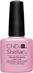 CND Shellac Mauve Maverick, 7,3 мл. - цветное покрытие шеллак гель-лак