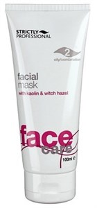 Strictly Facial Deep Cleansing Mask for Oily/Combination Skin, 100ml.- Глубоко очищающая маска с каолином и оксидом цинка