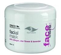 Strictly Facial Gel Mask with Collagen for Dry/Mature Skin, 450ml.- Омолаживающая гель-маска с коллагеном и эфирным маслом лаванды, для сухой и увядающей кожи