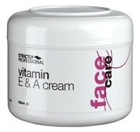 Strictly Vitamin E & A Cream, 450ml.- Обогащенный питательный крем для лица с витаминами А и Е